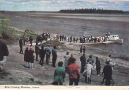 Visitors Waiting To Cross The Moose River To Moose Factory,  Moosonee,  Ontario,   Canada,  PU_50-70s - Unclassified