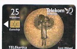 SLOVENIA (SLOVENIJA)  - TELEKOM SLOVENIJE  -   1999 SVETI MIHAEL  /  SV. MIHAELA CHURCH  - USED  -  RIF. 3103 - Slovenia