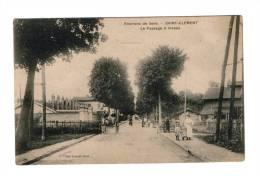89 - Environ De SEns - Saint Clement - Le Passage à Niveau - Autres Communes