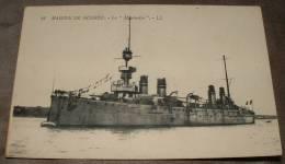 Marine De Guerre - Le Montcalm - Guerra