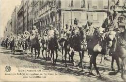 Guerre 1914-18- Ref G446- Armee Indienne - Indian Army -indes -cavaliers Indous - Carte Bon Etat  - - Guerre 1914-18