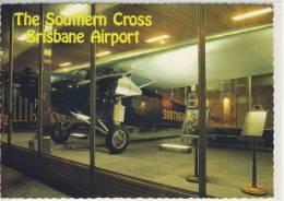 AUSTRALIA - The SAUTHERN CROSS At BRISBANE AIRPORT,  Fokker F.VIIb / 3m Trimotor Monoplane - Brisbane
