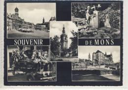 Souvenier De  MONS - Multi View    ( NELS ) - Belgique