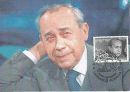 ITALY  RAVALMUTO  Leonardo Sciascia 1921/1989 Scittore  23/10/10 - Scrittori