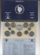 Monnaie De Paris FRANCE Fleurs De Coins 1983 - France