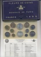 Monnaie De Paris FRANCE Fleurs De Coins 1985 - France
