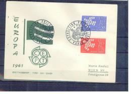 FRANKREICH , France , ** , MNH , Postfrisch , Mi.Nr.1363 - 1364 ,   FDC - FDC