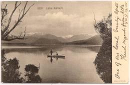 NZ - Lake KANIERI ++++ To Wood Green, LONDON, 1905 +++ Muir & Moodie, Dunedin, N. Z. ++++ - New Zealand