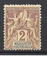 MADAGASCAR TYPE GROUPE  N� 29 NEUF* TTB