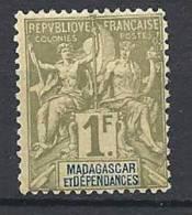 MADAGASCAR TYPE GROUPE  N� 41 NEUF* TTB