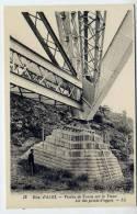 Viaduc De TANUS--81--Viaduc Sur Le VIAUR--Un Des Points D'appui-- (animé)--Paul Bodin--  N° 13 éd LL---Belle Carte - Bâtiments & Architecture