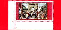 Nuovo - MNH - VATICANO - 2001 - La Cappella Sistina Restaurata - La Punizione Di Core - 1500 L. - 0,77 - Vatican