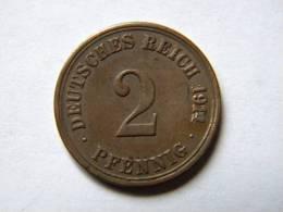 ALLEMAGNE - 2 PFENNIG 1914 A. - [ 2] 1871-1918 : Imperio Alemán