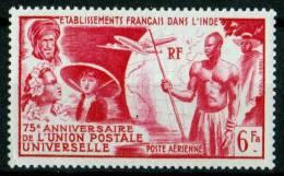 INDE 1949 POSTE AERIENNE  N° 21 NEUF ** COTE 10.50 EUROS - Zonder Classificatie