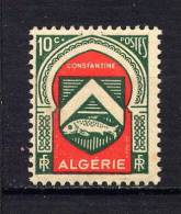 ALGERIE - N° 254** - ARMOIRIES DE CONSTANTINE - Algerien (1924-1962)