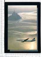 AIRBUS  A320 - 200   Devant Le   MONT SAINT MICHEL - 1946-....: Era Moderna