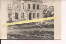 Cormicy Marne Champagne Le Village Carte Photo Française  Poilus 1914-1918 14-18 Ww1 WWI 1.wk - War, Military