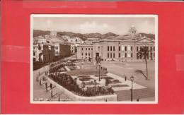 #G0286# MESSINA - PIAZZA MUNICIPIO (Cartolina Fotografica - In Alto A Destra La Scritta DUCE) - Messina