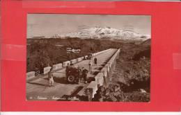 #G0293# CATANIA - AUTOSTRADA DELL'ETNA (Auto D'epoca Con Sci Sul Tetto + Pubblicità LAVA GATTO) - Catania