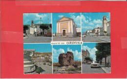 #G0362# SALUTI DA ORDONA - VEDUTE - Foggia