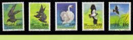 DEN SC #823a-e MNH  1986 National Bird Candidates / Finalists, CV $10.00 - Denmark