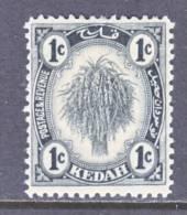 Kedah  24a  Type II   *  Wmk 4  1921-36 Issue - Kedah