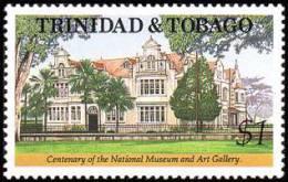Trinidad & Tobago - 1992 ( Natl. Museum & Art Gallery, Cent. ) - MNH (**) - Trinidad Y Tobago (1962-...)