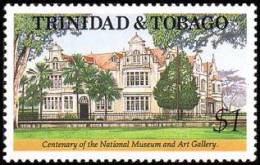 Trinidad & Tobago - 1992 - ( Natl. Museum & Art Gallery, Cent. ) - MNH (**) - Musei