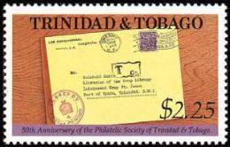 Trinidad & Tobago - 1992 ( Philatelic Society Of Trinidad & Tobago, 50th Anniv. ) - MNH (**) - Trinidad Y Tobago (1962-...)