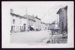 54-229 - MEURTHE Et MOSELLE - CUSTINES - Rue De L´´Eglise - Unclassified