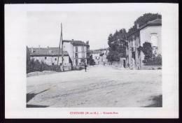 54-230 - MEURTHE Et MOSELLE - CUSTINES - Grande Rue - Unclassified