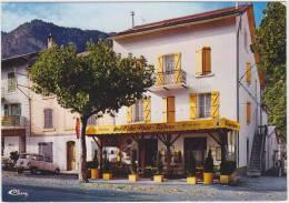 Guillaumes : RENAULT 4 - Hotel Des Alps 'Chez Maurice' - Voiture/Auto/Car France - Voitures De Tourisme