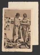 Donne Abissine Al Mercato - Ed. Scozzi Attilio Asmara Eritrea - Dorso Distaccato E Non Viaggiata - Ethniques & Cultures
