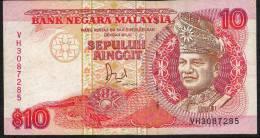 MALAYSIA   P29a   10  RINGGIT   1989    AVF    NO P.h. ! ! - Malaysia