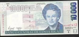 COSTA RICA   P267b   10.000 COLONES    2002     UNC. - Costa Rica