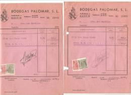 Facturas Con Sellos. - España