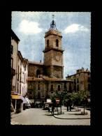 34 - PEZENAS - Place De La République Et Eglise St-Jean - 1 - Pezenas