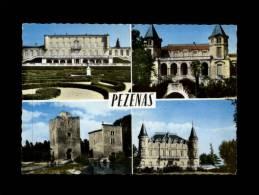 34 - PEZENAS - Multi Vues - Château - Pezenas