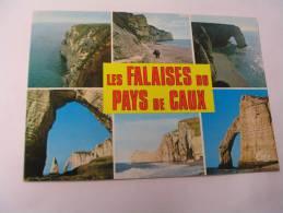 EL- FALAISES DU PAYS DE CAUX...FLAMME YVETOT...1988 - France