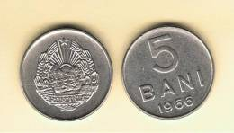 RUMANIA  -  5 Bani 1966  KM92 - Rumania