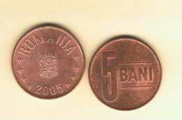 RUMANIA  -  5 Bani  2005  Km190 - Rumania