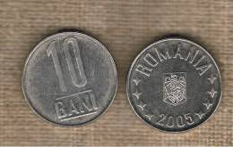 RUMANIA  -  10 Bani 2005  KM191 - Rumania