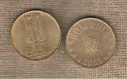 RUMANIA  -   50 Bani  2005  KM192 - Rumania