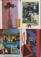12 CPM MAGASINS ET MARQUES DE VETEMENTS - Cartoline