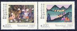 #Argentina 1989. Paintings . Peintures. Gemälde. Michel 2005-06. MNH(**) - Argentina