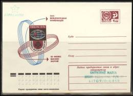 RUSSIA USSR Stamped Stationery Private Overprinted In LITHUANIA Esperanto LT Klub 002 - 1923-1991 USSR