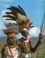 (105) Semi Nude Papua New Guinea Men - Homme Semu Nue De Papapousie Nouvelle Guinée - Chimbu - Papua-Neuguinea