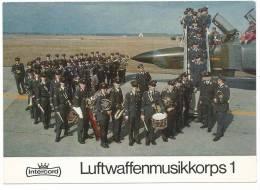 LUFTWAFFENMUSIKKORPS 1 . FANFARE -Terrain D'aviation -Stuttgart -voir Scan Recto Verso - Sin Clasificación
