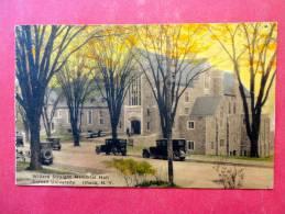 Willard Straight Memorial Hall Cornell University Ithaca NY  Hand Colored  1929 Cancel  Ref 906 - NY - New York
