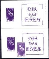 #H186. Brazil 1967. Mothers Day. Michel 1135 + Block 20 With/without Counting Number. MNH(**) - Brésil